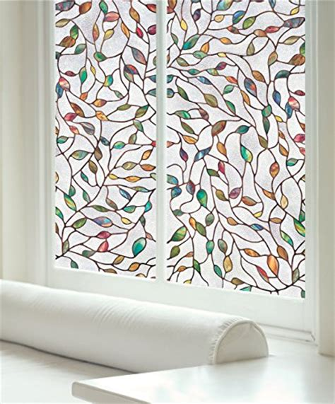 Artscape New Leaf Decorative Window by Artscape New Leaf Window 24 Quot X 36 Quot Home Garden Decor