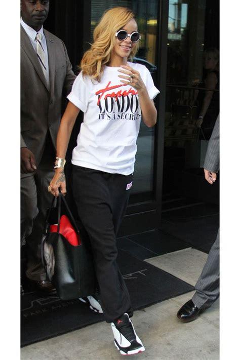 Rihanna Dope Jordan's Outfit Ideas