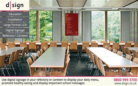 Digital Signage For Schools Canteen