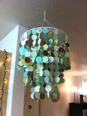 diy wax paper chandelier diy wax paper chandelier