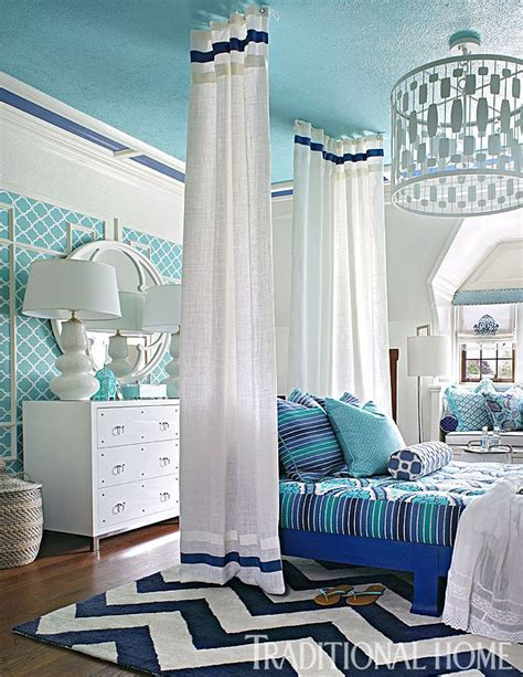 Serene Showhouse Bedrooms by Stately Homes By The Sea Designer Showhouse Palette Cool