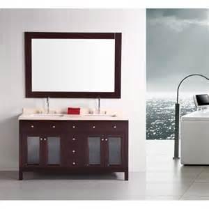 design element bathroom vanities design element dec302a venetian 60 inch sink bathroom vanity