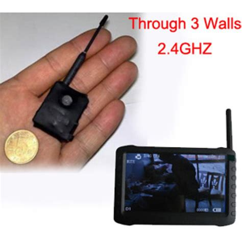 miniature wireless micro 2 4ghz wireless transmitter through 3