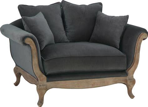 canapé pompadour pin fauteuil baroque capitonné bleu on