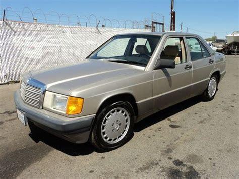 how cars run 1990 mercedes benz w201 lane departure warning buy used 1990 mercedes benz 190e 2 6 sedan 4 door 2 6l no reserve in orange california united