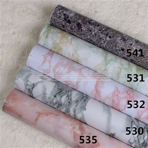 wallpaper  walls marble sticker vinyl wall paper roll