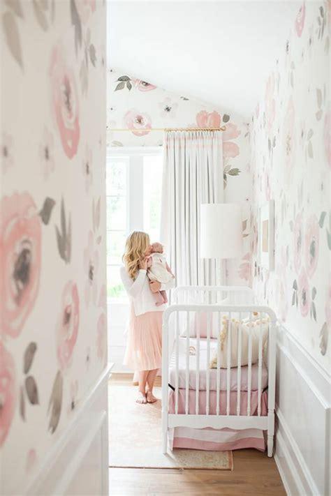 Kinderzimmer Wand Ideen Mädchen by 1001 Ideen F 252 R Babyzimmer M 228 Dchen