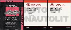 2002 Toyota Tundra Service Repair Shop Set Oem 2 Volume Set And The Wiring Diagrams