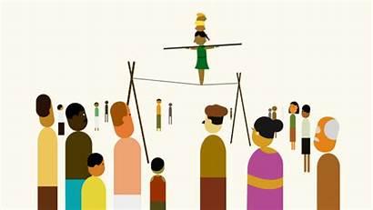 Animated Indian Gifs Cultural Balancing Acrobat Rope