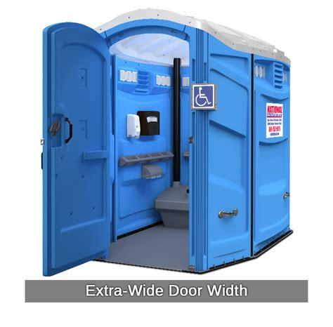 rent  fence porta potty rentals handicap unit