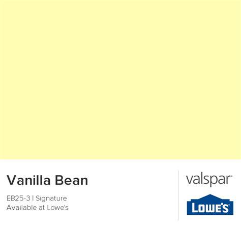 valspar paint color chip vanilla bean color palettes