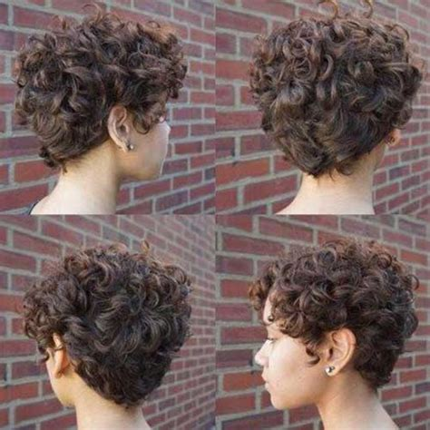 Cute Curly Short Hairstyles for Ladies crazyforus