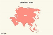 The 7 Continents Ranked by Size and Population