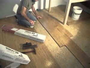 installing pergo xp laminate flooring youtube