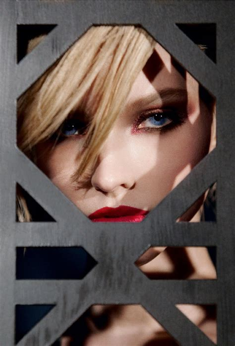 sasha luss  red hot  dior cosmetics fall  campaign
