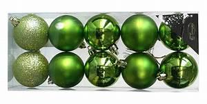 Boule De Noel Verte : le pack 10 boules de noel tendance assorties noel ~ Teatrodelosmanantiales.com Idées de Décoration