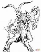 Coloring Death Mythical Creatures Pages Printable Blackened Drawings Creature Detailed Mythology Dark Drawing Dragons Fantasy Template Designlooter Sea Version Compatible sketch template