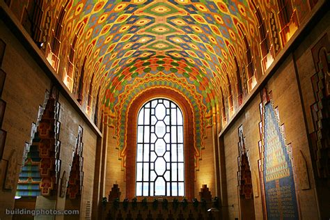 Pewabic Tile In Detroit by Guardian Building Detroit Michigan U S A