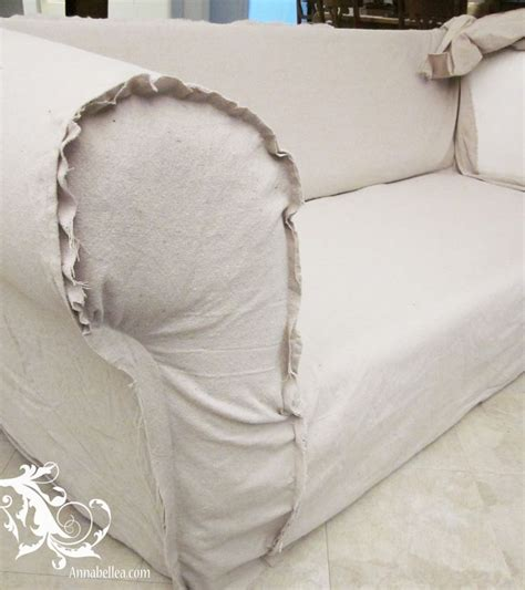 making slipcovers for sofa drop cloth sofa slipcover slipcovered goodness pinterest