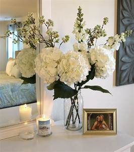 25 best ideas about fake flowers decor on pinterest With kitchen colors with white cabinets with candle holder wedding centerpieces