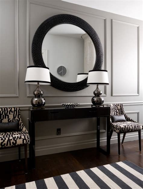 10 stunning black wall mirror ideas to decorate your home