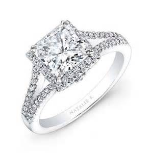 new style engagement rings fashion fok beautiful designed princess cut engagement rings platinum silver ring