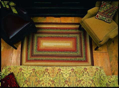 Rugs Home Decorators Collection: Homespice Decor Cotton Braided Peppercorn Yellow Area Rug