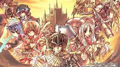 Ragnarok Anime Battle Manga Warriors Last Wallpapers