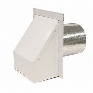 Heavy Duty Wall Design White Wall Vent 24