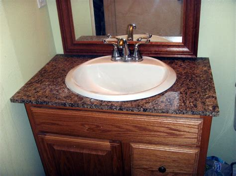 install laminate formica   bathroom vanity