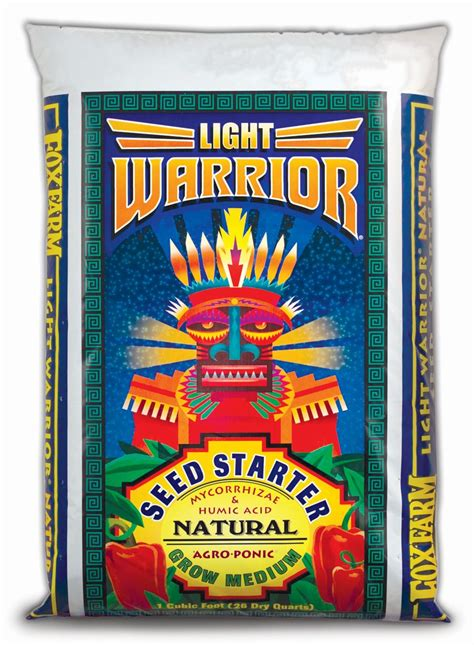 fox farm light warrior foxfarm light warrior soilless mix 1 cu ft foxfarm ebay