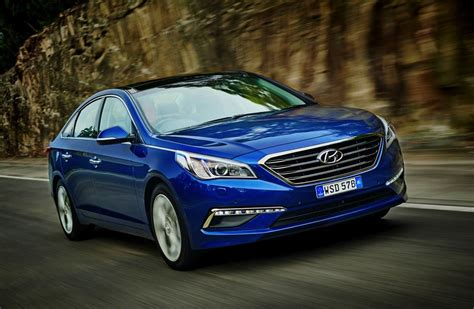 2015 Sonata Turbo by 2015 Hyundai Sonata On Sale From 29 990 New Turbo Option