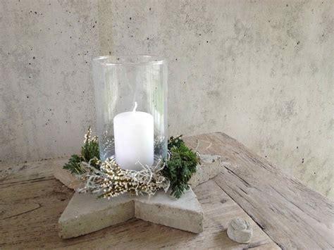 Windlicht Aus Beton Basteln by Weihnachten Aus Beton Weihnachten