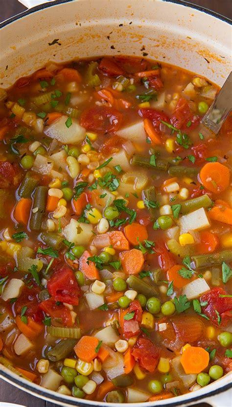 vegetable soup really good vegetable soup recipe dishmaps