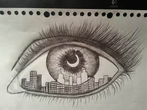 Eye Drawing Sketches