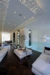 33 examples of modern living room ceiling design for Impressive interior design photos modern living room ideas