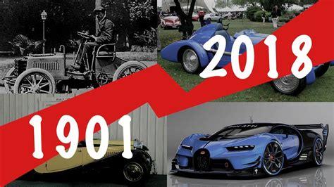 Bugatti Car History bugatti evolution car history