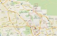 Glendale California Map and Glendale California Satellite ...