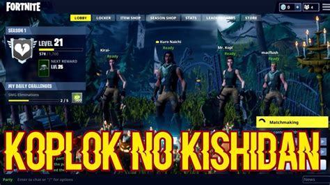 fortnite indonesia uhuy koplok  kishidan youtube