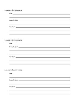 worksheet for quote paraphrase and summary practice tpt