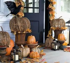 Kürbis Deko Draußen : tolle halloween dekoration selber machen ~ Markanthonyermac.com Haus und Dekorationen
