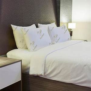 buy comfort bamboo pillows with memory foam queen or king With are bamboo pillows any good