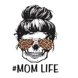 Sugar skull png png found: Messy Bun Mom Life SVG   Messy bun hairstyle JPG, PNG, SVG ...