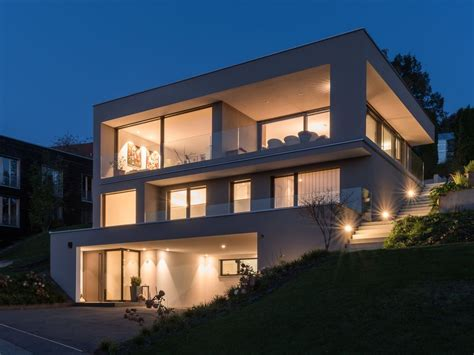 Modernes Haus L Form by Hanghaus Einfamilienhaus R 246 This Modern Massivbau