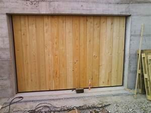 l39isolation et le plancher fin janvier 2010 le blog de With porte garage basculante bois