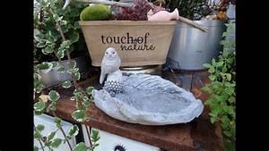 Vogeltränke Selber Machen : diy beton blatt vogeltr nke schale kinderleicht selber machen youtube ~ Yasmunasinghe.com Haus und Dekorationen