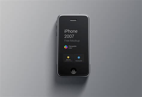 1st gen iphone iphone 1st generation mockup freebies for designers and 1st g