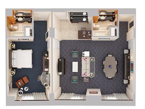 floor plans hotel gallery  hilton orlando
