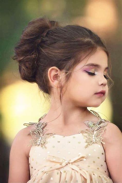 unique flower girl hairstyles ideas  pinterest kid