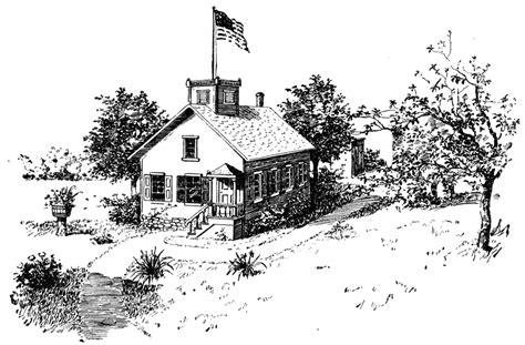 Clip Art School House